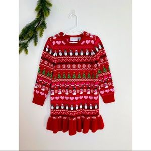 The Children's Place Sweater Dress Holiday